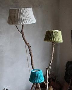 Wooden<br>floorlamp