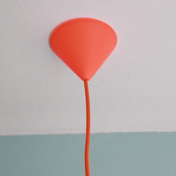 pendant light orange kidsroom