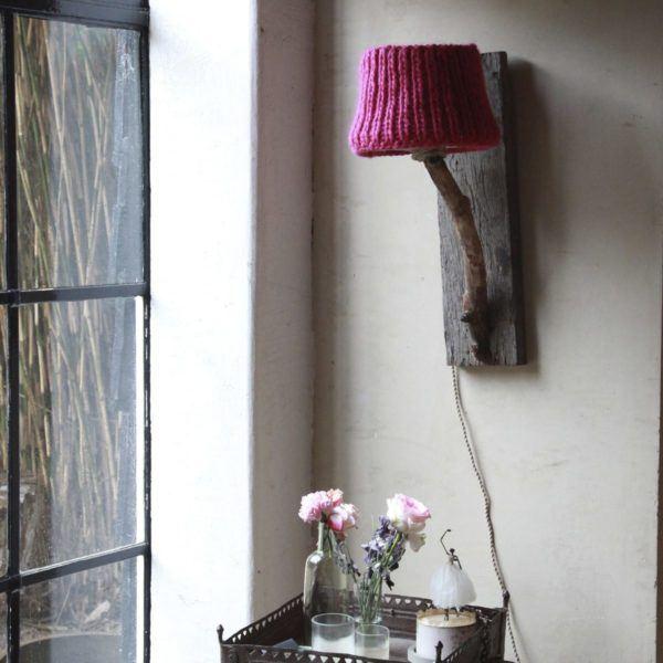 wall light oak wagon wood