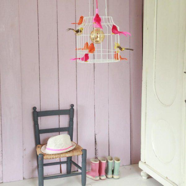 birds lamp kidsroom