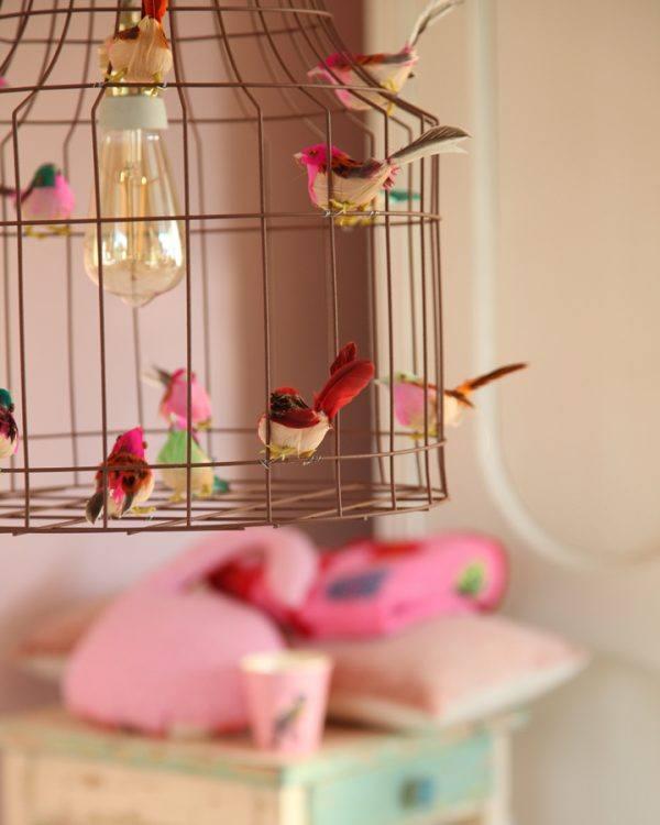 hanglamp babykamer vogeltjes