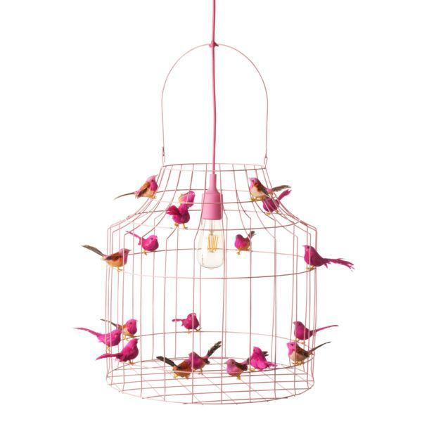 hanglamp roze meisjeskamer